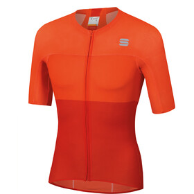 Sportful Bodyfit Pro Light Maillot de cyclisme Homme, fire red orange sdr